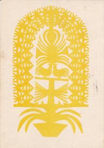 Logo ; Poland , Wycinanka kurpiowska , PU-1952