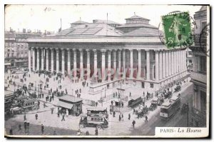 Postcard Old Paris Bourse