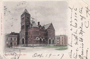 OSHKOSH, Wisconsin, PU-1907; Post Office