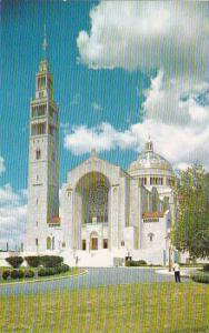 Washington DC View Of The National Shrine Of The Immaculate Conception