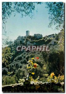 Postcard Modern Tourrette Levens Am Old Village and Tower