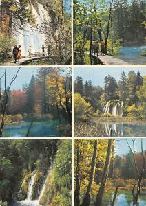 Croatia Plitvicka Jezera Detalji sa Gornlih Jezera Waterfall Promenade