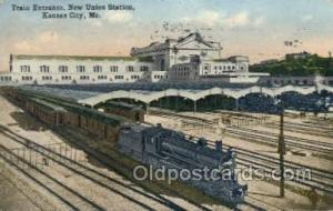 Union Station, Kansas City, Mo, Missouri, USA Train Railroad Station Depot Po...