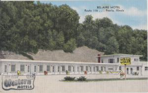 Peoria IL - BEL-AIRE MOTEL on  Route 116, 1930/40s