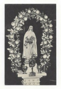 Virgin Mary Altar, Flower Arch, S.I. , N.Y. 1900-10's