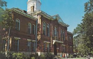 Sumter County Courthouse, Linvingston, Alabama, 40-60´s
