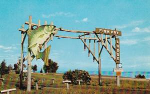Minnesota Duluth Fish Fry Lodge Welcome Sign