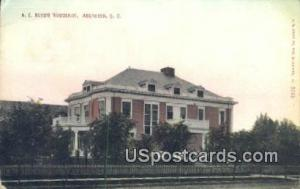 AE Boyd's Residence