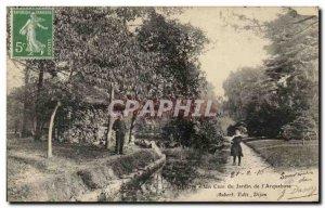 Old Postcard Dijon A Corner of the Garden of I & # 39Arquebuse