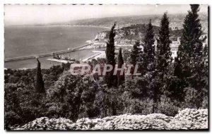 Postcard Old La Cote D & # 39Azur Nice Vue Generale Jack Du Mont Boron