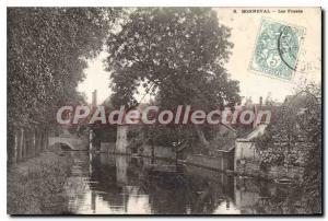 Postcard Old Bonneval Les Fosses