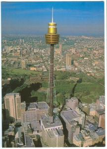 Australia, Aerial view of Sydney Tower, used Postcard