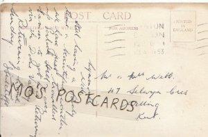 Genealogy Postcard - Webb - 47 Selwyn Crescent - Welling - Kent - Ref 6224A