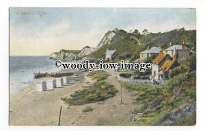 h1669 - Isle of Wight - An Early View along Steephill Cove at Ventnor - Postcard
