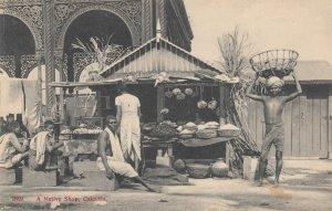 Calcutta , India , 00-10s ; A Native Shop