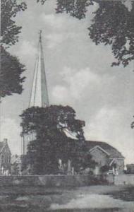 Delaware New Castle Historic Immanuel Church on The Green Albertype