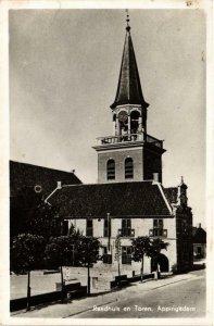CPA APPINGEDAM Raadhuis en Toren NETHERLANDS (705902)