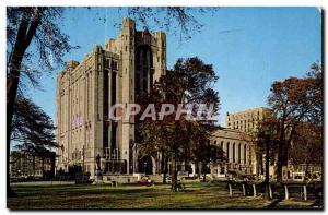 Postcard The Old Masonic Temple Detroit Michigan