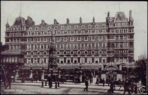 london, LONDON, Charing Cross Station and Hotel (1904)