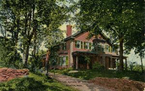 MA - Newton. Home of Rev. Dr. Smythe