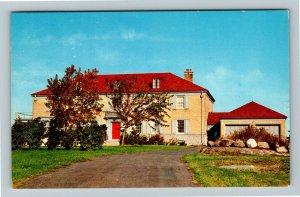 Collander ON- Ontario, Home of the Dionne Quintuplets, Chrome Postcard