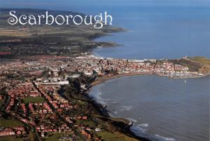 Postcard, Scarborough, Aerial View, North Yorkshire #304