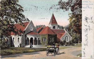 Lenox Massachusetts~Episcopal Church~Fancy Rotunda~Parish House 1906 TUCK