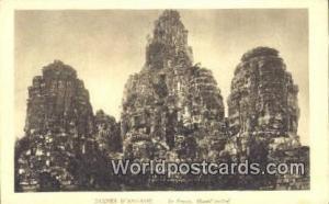 Ruines D'Angkor Cambodia, Cambodge Le Bayon, Massif Central Ruines D'Angkor L...