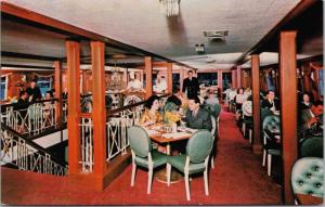 SS Lady Alexandra Floating Restaurant Vancouver BC Ad Advert Postcard E27