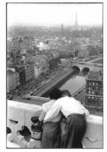 Henri Cartier Bresson - Paris, Notre Dame 1955
