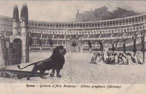 Italy Roma Rome Galleria d'Arte Moderna Ultima preghiera