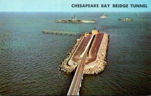 Virginia Chesapeake Bay Bridge-Tunnel Connecting Virginia Beach & Eastern Shroe