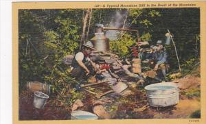 A Typical Moonshine Still In The Heart Of The Mountains Curteich