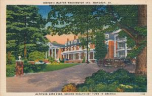 Historic Martha Washington Inn Abingdon VA Virginia Second Healthiest Town in US