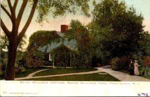 Rhode Island Providence Roger Williams Park Betsy Williams Cottage