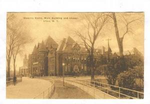 Masonic Home, Main Building and Chapel, Utica, New York, 00-10s