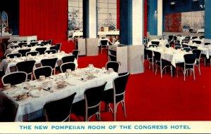 Oregon Portland Congress Hotel The Pompeiian Banquet Room