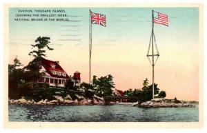 New York   Thousand Islands   Zavikon smallest international bridge
