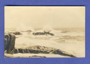 Portland, Maine/ME, Postcard, Table Rock Surf, 1949!