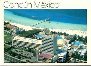 Mexico Cancun Hotel Stouffer Presidente 1994