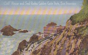 Cliff House and Seal Rocks Golden Gate Park San Francisco California