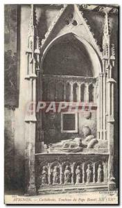 Old Postcard Avignon Tomb of Pope Benedict XII