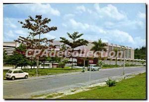 Postcard Modern Library University Of Malaya
