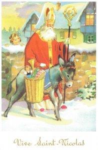 Saint Nicolas Saint Nicholas Santa Postcard 04.84