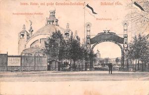 Duffeldorf Germany Intern Kunst und grobe Gartenbau Ausllellung Duffeldorf In...