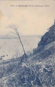 View of Mississippi River, Dubuque, Iowa, PU_1908