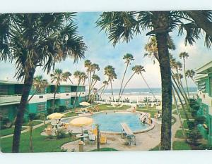 Pre-1980 MOTEL SCENE Ormond Beach Florida FL G7498