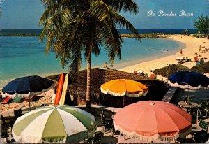 Bahamas Nassau World Renowned Paradise Beach On Paradise Island