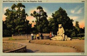 California Los Angeles World Famous La Brea Pits