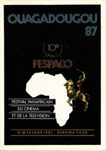CPM Burkina Faso CINEMA FILM (780862)